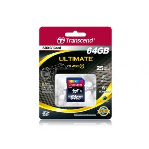 Secure Digital Card 64GB Transcend SDXC Class 10, TS64GSDXC10 (снимка 2)