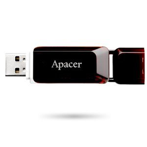 16GB Apacer Handy Steno AH321, Claret Red, AP16GAH321R-1 (снимка 3)