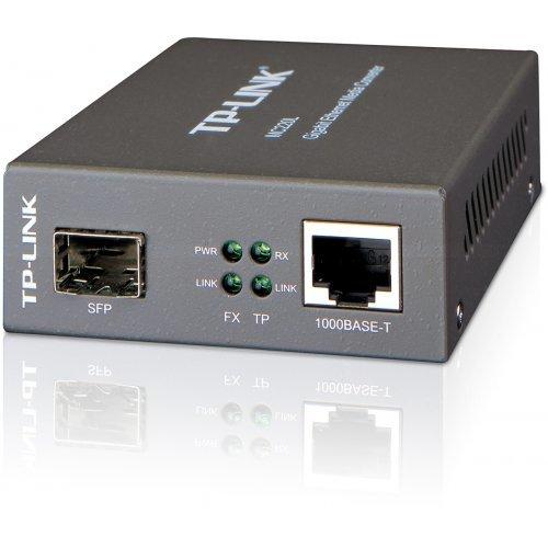TP-Link MC220L, Gigabit Ethernet Media Converter (снимка 1)