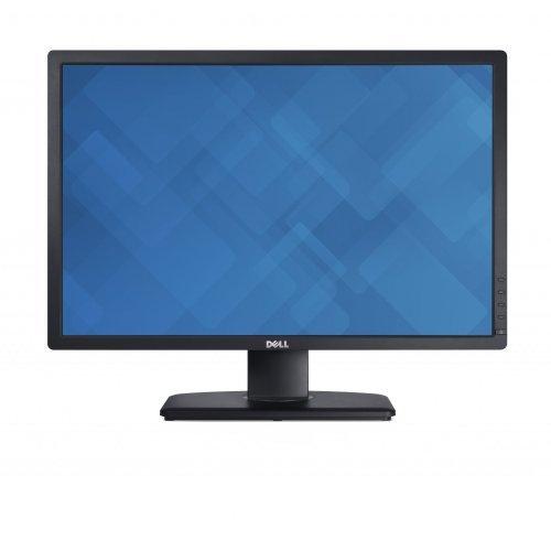 """Монитор Dell 24"""" U2412M, IPS LED, UltraSharp, 8ms, 2000000:1 DFC, 300 cd/m2, 1920x1200 HD, 5 USB, DVI, DisplayPort DP, Height Adjustable, Pivot, Black (снимка 1)"""