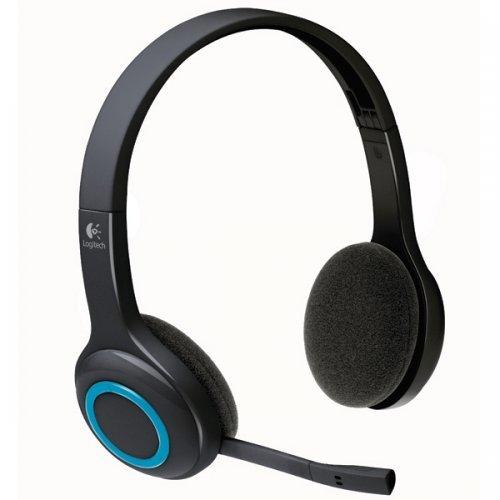 Слушалки Logitech Wireless Headset H600, Nano USB receiver, Microphone (снимка 1)