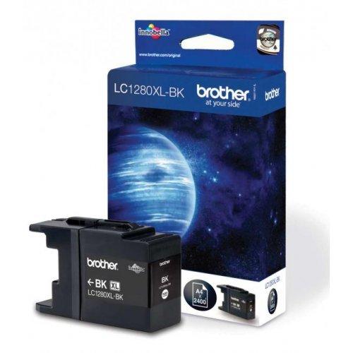 Brother LC-1280XL BK, Мастилница за MFC-J6510/J6910р Цвят: Черен (снимка 1)