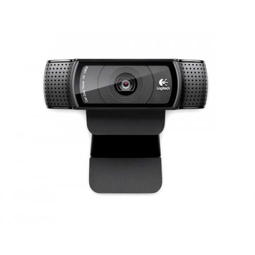 Logitech HD Pro Webcam C920, Full HD 1080p video calling with the latest version of Skype for Windows (снимка 1)