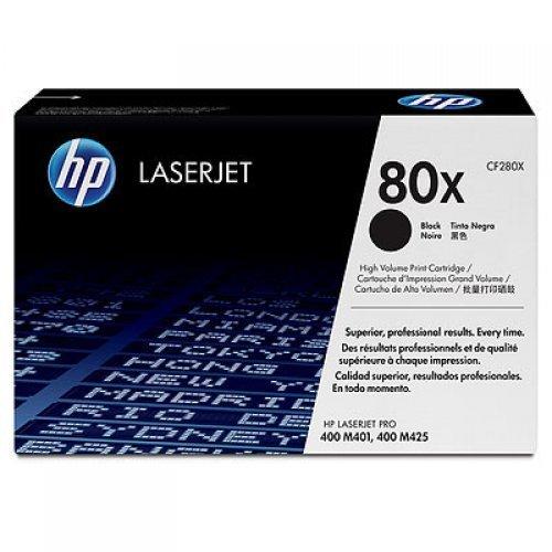 HP 80X, тонер касета, CF280X, Цвят: Черен Съвместимост: HP LaserJet Pro 400 M401series (снимка 1)