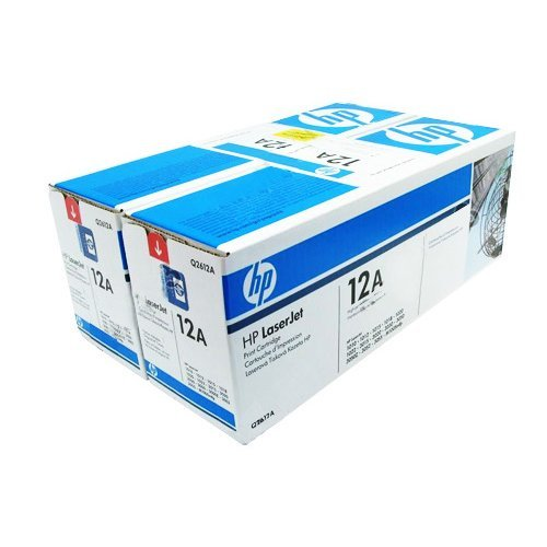 HP 12A, Q2612AD,Black Dual Pack LaserJet Toner Cartridges (снимка 1)