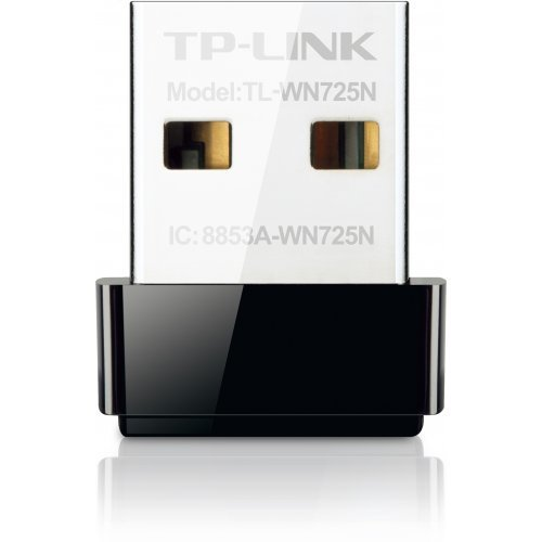 TP-Link TL-WN725N, 150Mbps wireless N Nano USB adapter (снимка 1)