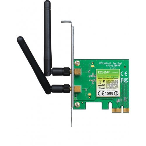 TP-Link TL-WN881ND, 300Mbps Wireless N PCI Express Adapter (снимка 1)