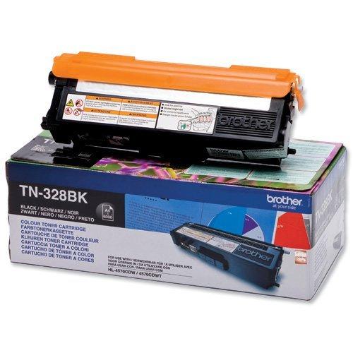 Brother TN-328BK Toner Cartridge High Yield (6000p.) for HL-4150/4570, MFC-9970 series (снимка 1)