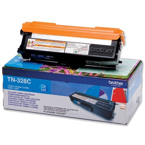 Brother TN-328C Toner Cartridge High Yield (6000p.) for HL-4150/4570, MFC-9970 series (снимка 1)