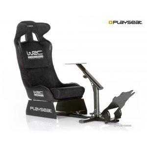 Геймърски стол Playseat WRC, геймърски стол за автомобилни симулатори, изработен от стомана и висококачествена алкантара (снимка 1)