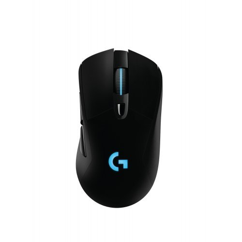 Мишка Logitech G403W Prodigy Wired/Wireless Gaming Mouse, 200 - 12000 dpi, Programmable RGB Lighting, Onboard memory, Six programmable buttons (снимка 1)