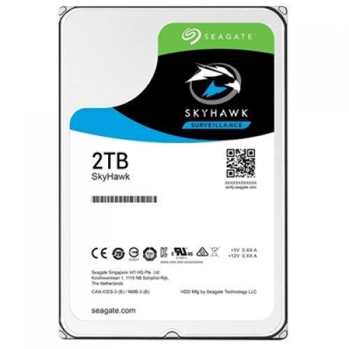 Твърд диск Seagate 2TB SkyHawk ST2000VX008 SATA3 64MB (снимка 1)