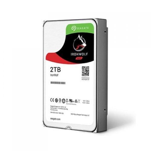 Твърд диск Seagate 2TB IronWolf ST2000VN004 SATA3 64MB 5900rpm (снимка 1)