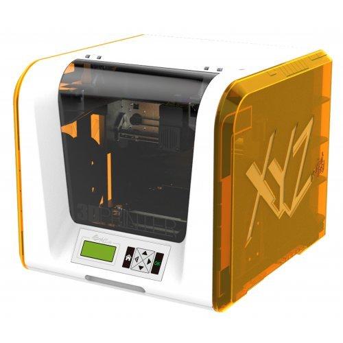 3D принтер da Vinci JUNIOR 1.0, basic for home or school use, FFF Technology, PLA filament material, USB 2.0, SD card up to 32GB (снимка 1)