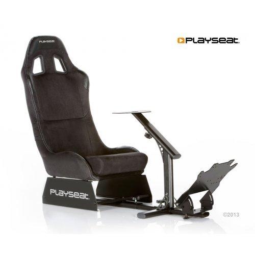 Геймърски стол Playseat Evolution Alcantara, геймърски стол за автомобилни симулатори, изработен от стомана и висококачествена алкантара (снимка 1)
