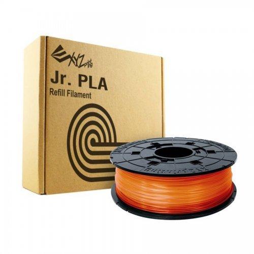 Консуматив за 3D принтер Консуматив за 3D принтер XYZprinting -PLA (NFC) filament 600gr, Clear Tangerine, за DaVinci Junior, Mini, Pen (снимка 1)