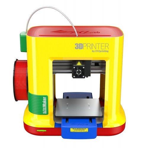 3D принтер da Vinci miniMaker, Single nozzle print head, FFF Technology, PLA filament material, USB 2.0 (снимка 1)