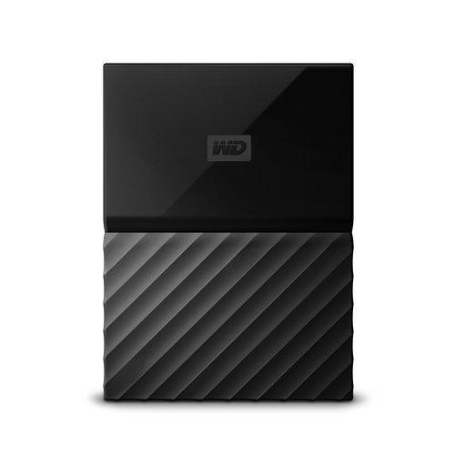 """Външен твърд диск Western Digital My Passport 1TB, 2.5"""", USB3.0, Black (снимка 1)"""