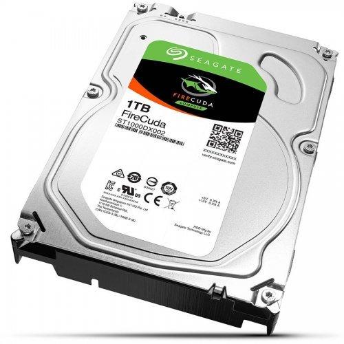 Твърд диск Seagate 1TB FireCuda ST1000DX002, 8GB MLC, SATA3 64MB (снимка 1)