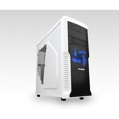 Компютърна кутия Zalman Z3 Plus, ATX MID Tower, USB3.0, White (снимка 1)