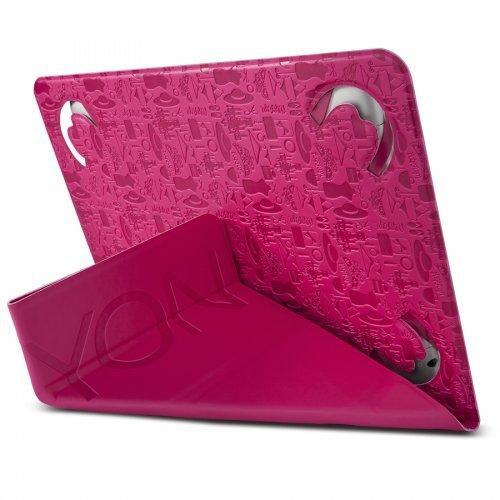 "Калъф за таблет Canyon CNS-C24UT8P, ""Life is"" Universal Case for 8"" Tablet, Pink (снимка 1)"