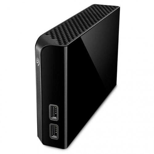 """Външен твърд диск Seagate Backup Plus Hub 4TB, 3.5"""", USB3.0, Black (снимка 1)"""