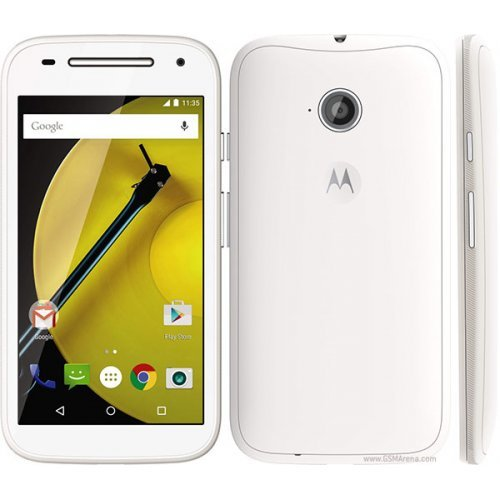 Смартфон Motorola E, White (снимка 1)