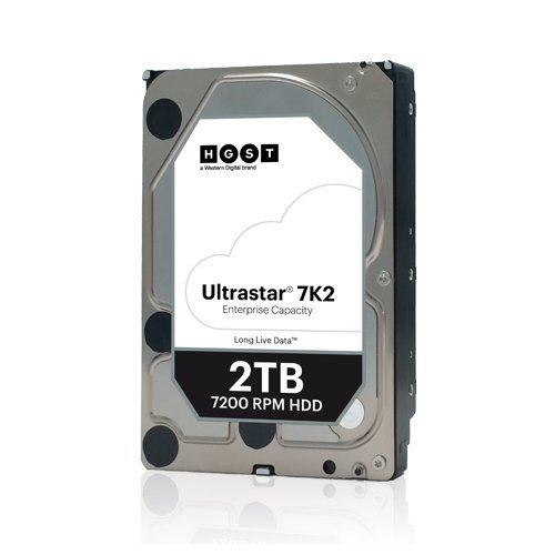 Твърд диск Hitachi 2TB Ultrastar 7K2, SATA3, 128MB, 7200rpm (снимка 1)