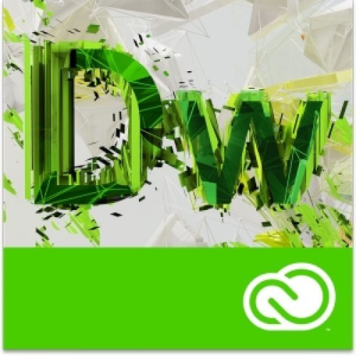 Приложен софтуер Adobe Dreamweaver CC for enterprise - абонамент за 12 месеца (снимка 1)