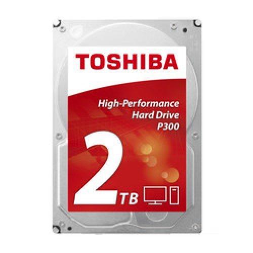 Твърд диск Toshiba 2TB, P300 HDWD120UZSVA, SATA3, 64MB, 7200rpm, Bulk (снимка 1)