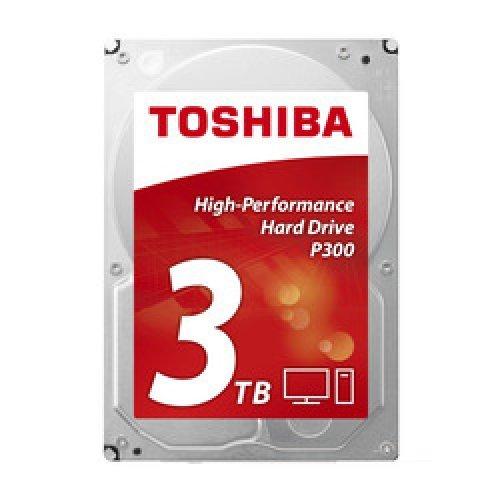 Твърд диск Toshiba 3TB, P300 HDWD130UZSVA, SATA3, 64MB, 7200rpm, Bulk (снимка 1)