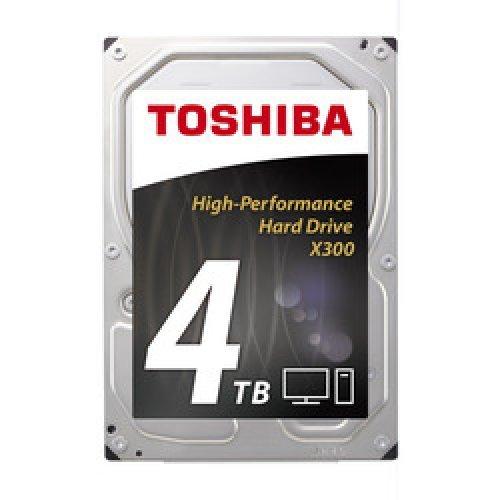 Твърд диск Toshiba 4TB, X300 HDWE140UZSVA, SATA3, 128MB, 7200rpm (снимка 1)