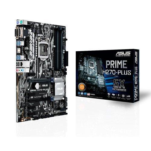 Дънна платка Asus Prime H270-Plus, LGA1151 (снимка 1)