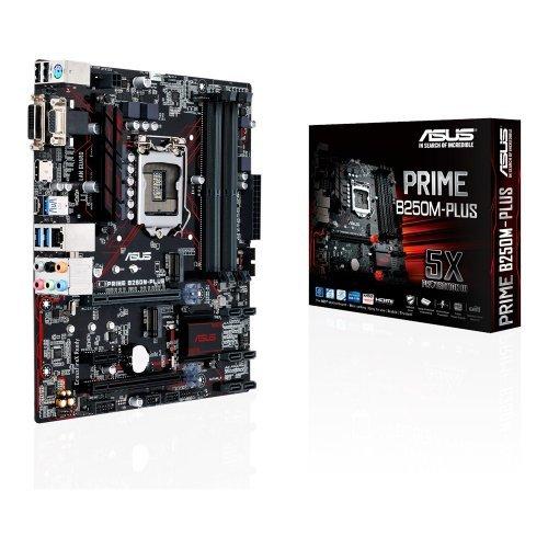 Дънна платка Asus Prime B250M-Plus, LGA1151 (снимка 1)