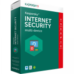 Kaspersky Internet Security 2017 Multi-Device - 1 device, 1 year + 3 months, Box (Антивирусен софтуер)
