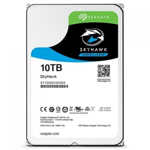 Твърд диск Seagate 10TB SkyHawk, ST10000VX0004, 3 год. гаран-я, SATA3 256MB (снимка 1)