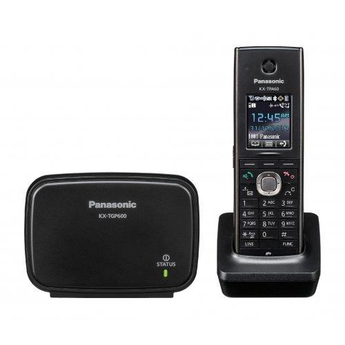 Безжичен VoIP телефон Panasonic KX-TGP600, базова станция с безжична слушалка (снимка 1)