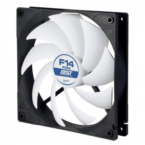 Въздушно охлаждане на процесор Arctic Cooling Arctic Fan F14 PWM PST, 14cm 550-1350rpm (снимка 1)