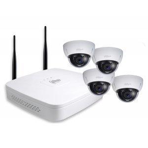 Dahua DH-KIT/NVR4104-W/4-HDBW1000EP-W-0360B, 4 Channel 720P WiFi Network Surveillance Security System (снимка 1)