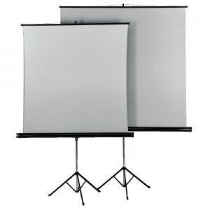 Екран за проектор Hama 18792, 125x125cm, 2 лица (снимка 1)