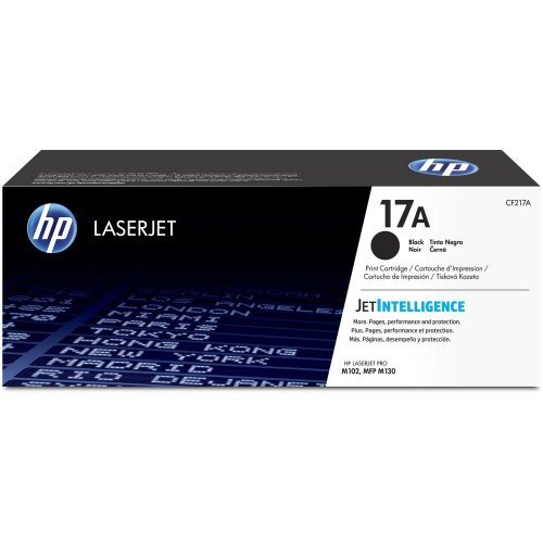 HP CF217A, 17A Black Original LaserJet Toner Cartridge (снимка 1)