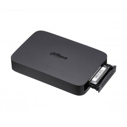 Dahua NVR104, 4 канала, 1x RJ45, 2x USB2.0, 1x SATA HDD (снимка 1)