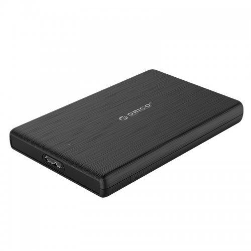 """Кутия за диск Orico 2189U3-BK, 2.5"""" SATA to USB3.0, Black (снимка 1)"""
