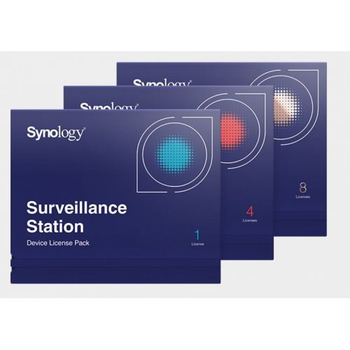 NAS устройство Synology Surveillance Device License Pack, 1 License (снимка 1)