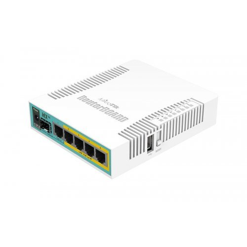 Жичен рутер MikroTik RB960PGS hEX PoE (снимка 1)