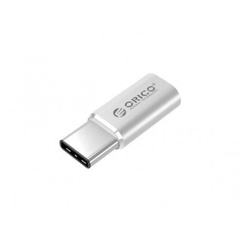 Аксесоар Orico CTM1, USB2.0 Type-C/M to Micro/F, Aluminum (снимка 1)