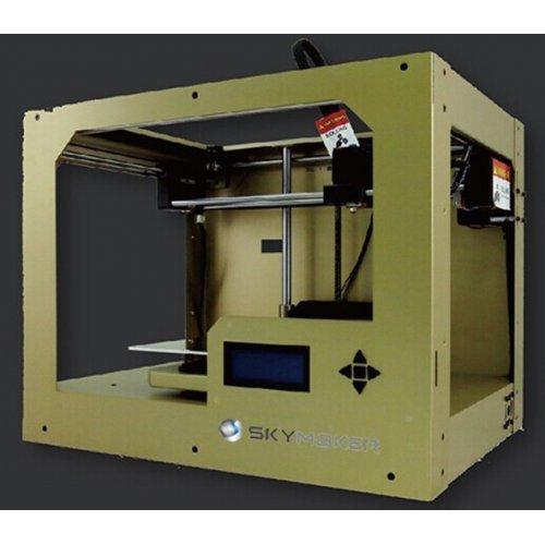 3D принтер Sky-Tech 3D printer SkyMaker-A1 Gold, Single Extruder, Single color, FFF Technology, Single nozzle print head, ABS / PLA / PVA / Flexible / PVA (water-soluble) Filaments (снимка 1)