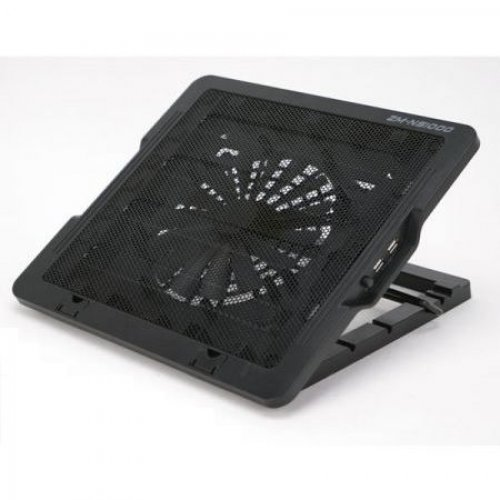 "Стенд за лаптоп Notebook Cooling Stand Zalman ZM-NS1000, for up to 16"" laptops, Rifle Bearing 180mm fan, 5 angle levels (снимка 1)"