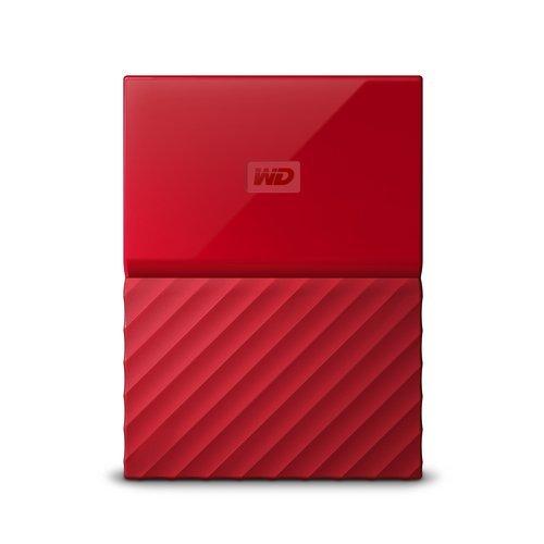 """Външен твърд диск Western Digital My Passport 4TB, 2.5"""", USB3.0, Red (снимка 1)"""