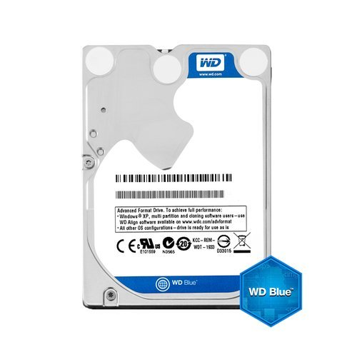 "Твърд диск Western Digital 1TB Blue WD10SPZX, SATA3, 128MB, 5400rpm, 2.5"" 7mm (снимка 1)"